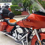 Harley Road Glide Custom 103, FLTRX.  Sadona Orange. Come along, let\'s enjoy life\'s ride together!