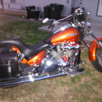 2004 honda VTX custom chopper