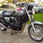 1998 Triumph Legend custom