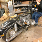Soon my pretty! Ignore the ugly mug in the back, that\'s my brother