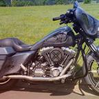 2008 Harley Davidson Streetglide Custom Bagger