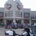 Taken at Rawhide Harley Davidson at the Kansas state HOG rally
