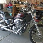 2000 Honda Shadow 600 VLX