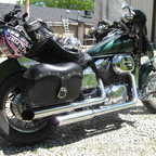 2002 Honda shadow spirit  custom