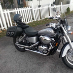 2002 Honda Shadow ACE Deluxe 750