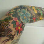 Left arm sleeve