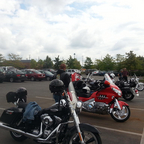 My bike on the last ride to Millersburg Ohio with my club Central Ohio Riders