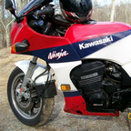 1986 Kawasaki ninja 928 cc from California
