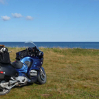 Summer of 2009, along the Bay of St. Lawrence on the Gaspe Peninsula.