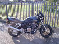 My machine is a retro naked muscle bike which is in quite good condition.