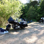 In tour mode, Redwood Run, 2012. Just under 2000 miles over a long weekend (or was it a short week?)