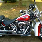 2013 Harley Davidson Softail Deluxe FLSTN