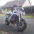 1998 Triumph speed triple