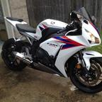 2012 CBR1000RR, we fit like a glove, blast to ride!