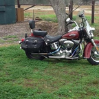 2009 Harley Davidson Heritage Soft Tail Classic