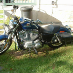 2010 Harley Davidson XL883 Sportser