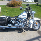 2012 Harley Davidson Softail Heritage Classic
