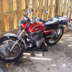 Ten years ago, bought it as a basket case w/title<br />restored it, rekindled my passion 4 riding