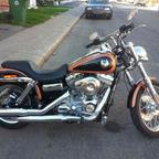 2008 Harley Davidson Dyna Super Glide Custom