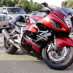 I love my busa. Picture was taken in Fresno, CA.