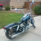 My newest ride, just finished in sept... its has a HD limited edition number paint set thats sic