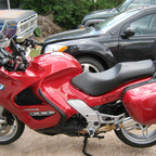 Now this is my newer bike and it\'s all fun and play. What a great bike for long rides.