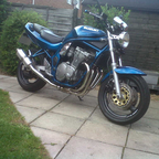 my first big bike after passing my test two years ago :)