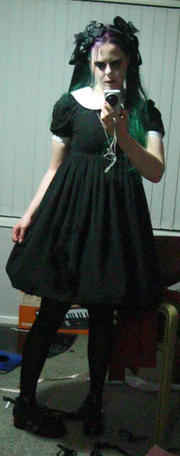 My Wednesday Addams dress :D
