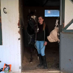 Me and my 2nd horse Coach