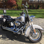 2008 Harley Davidson heritage softail classic