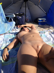 Smooth nudists......