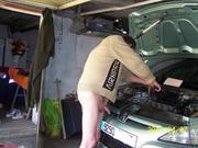 in my garage