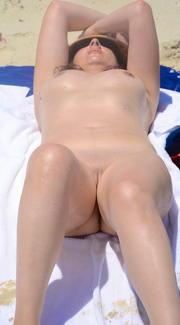 happy nudists
