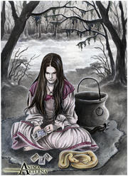 http://animaeterna.deviantart.com/art/The-Witch-of-Endor-212649547