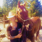 Red & I at Iron Horse, August 2016.
