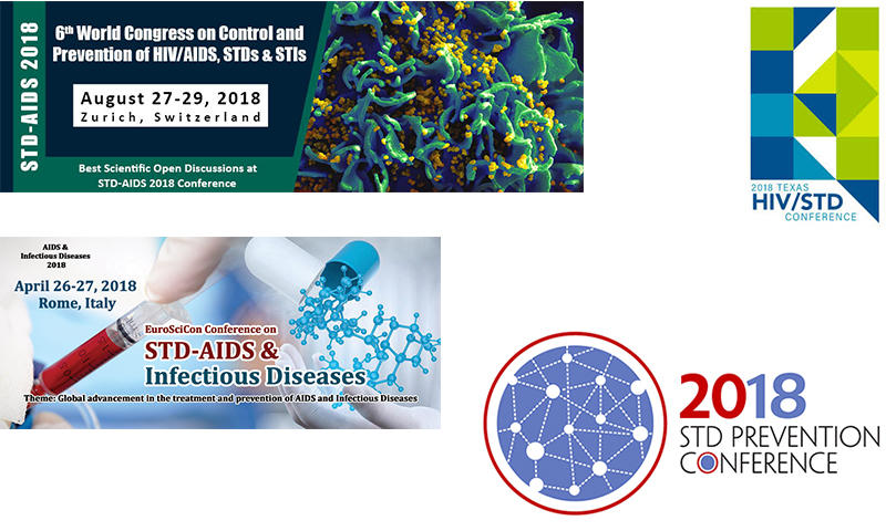 2018 Annual STD, HIV, HERPES, HSV awareness days, events and international conference calendar