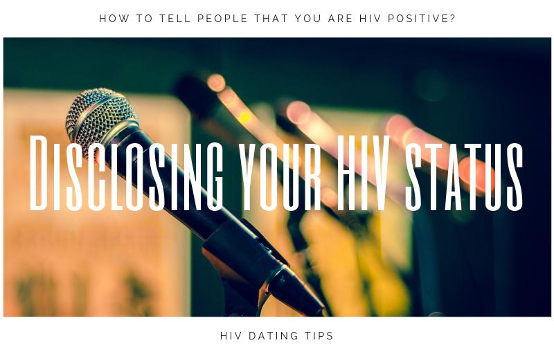 Disclosing your HIV status – how to tell people that you are HIV positive?