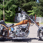 1972 Honda Custom Built old School Chopper The Dragon