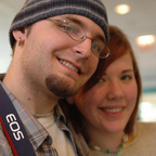 curious couple looking for a friend